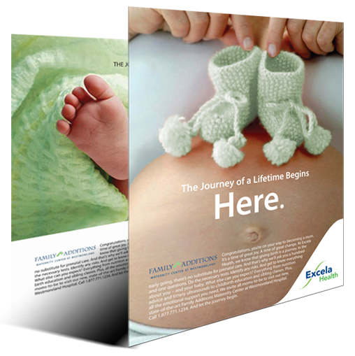 Excela Health, The Journey of a Lifetime integrated healthcare marketing campaign