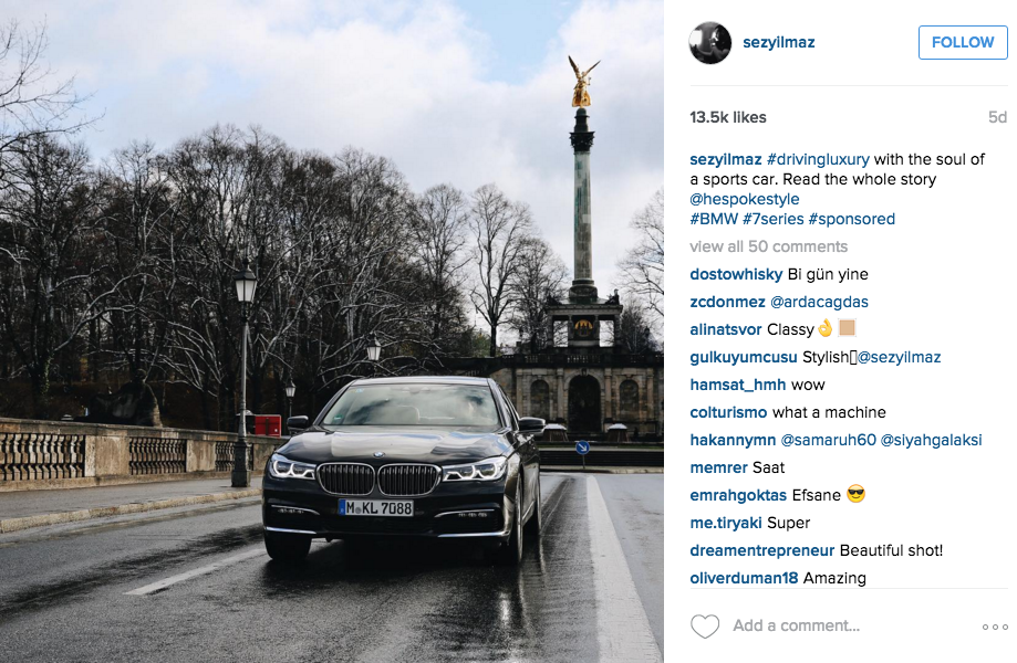 Instagram-Influencer-Marketing-Campaign-BMW-Photographer-Sezyilmaz