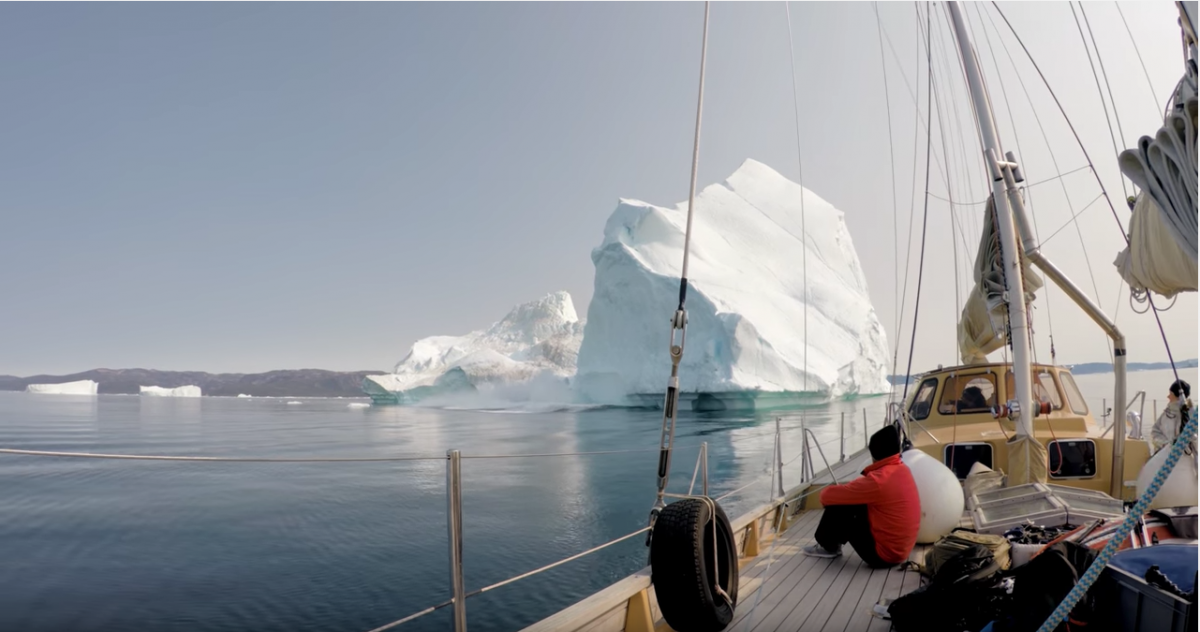 To Climb An Iceberg