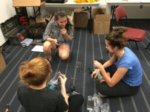 Summer internship: Madison helping with the Gamma Pickleball classic