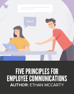 Five Principles for Employee Communications